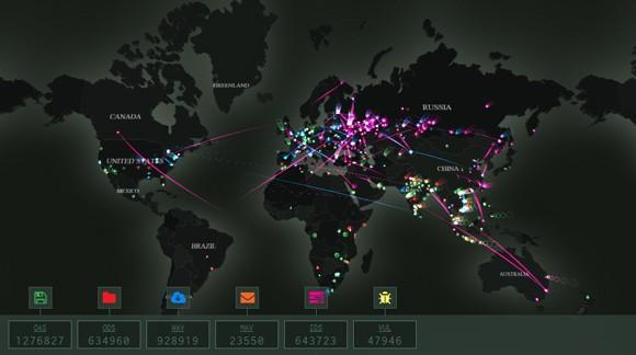 Ra mắt bản đồ tương tác về các mối đe dọa mạng toàn cầu ảnh 2