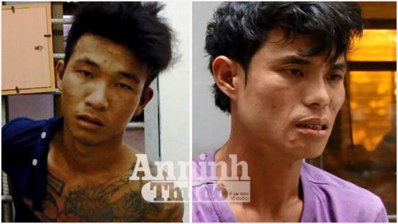 Hai thanh niên giấu hàng trăm viên ma túy đá trong người ảnh 1