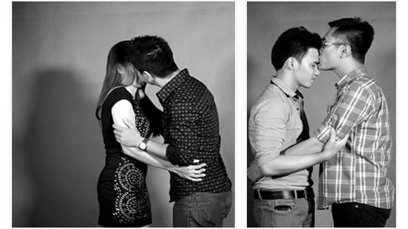 """Phim ngắn """"gây sốt"""": 20 người xa lạ trải nghiệm nụ hôn với nhau ảnh 1"""