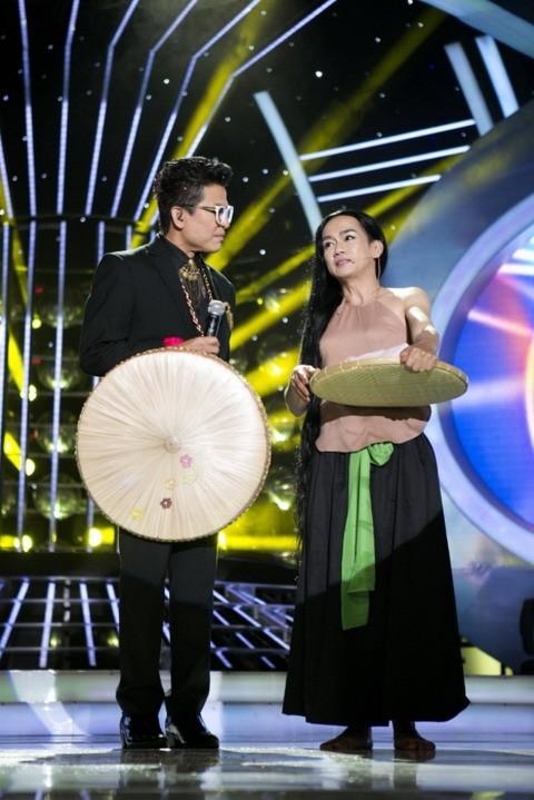 Minh Thuận, Vương Khang giả gái điêu luyện, vẫn thua Vy Oanh ảnh 2