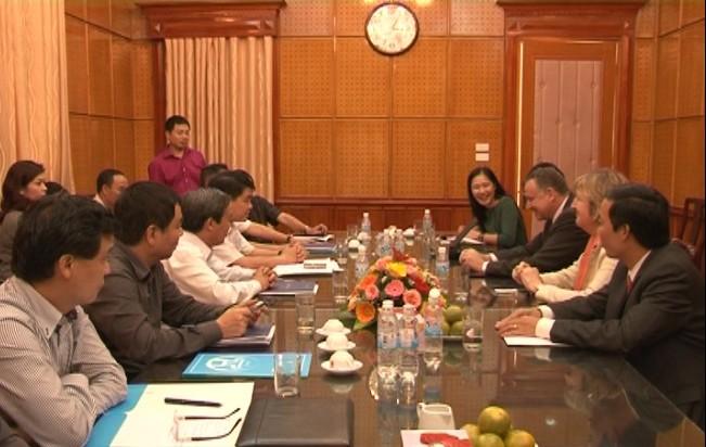 Giám đốc CATP Hà Nội làm việc với Tập đoàn Safran Morpho ảnh 2