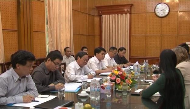 Giám đốc CATP Hà Nội làm việc với Tập đoàn Safran Morpho