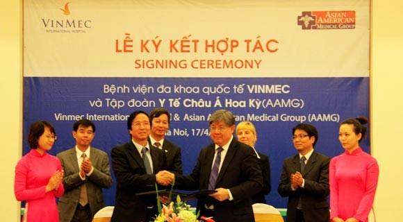 Vinmec hợp tác thành lập Trung tâm điều trị các bệnh Gan Việt Nam – Hoa Kỳ ảnh 1