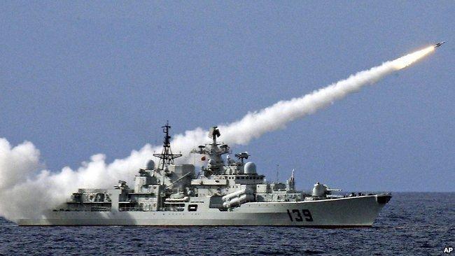 Ba hạm đội hải quân Trung Quốc tập trận ở Tây Thái Bình Dương ảnh 1