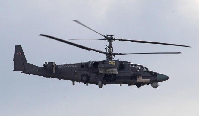 Trực thăng tấn công Ka-52 của Nga gặp tai nạn ảnh 1
