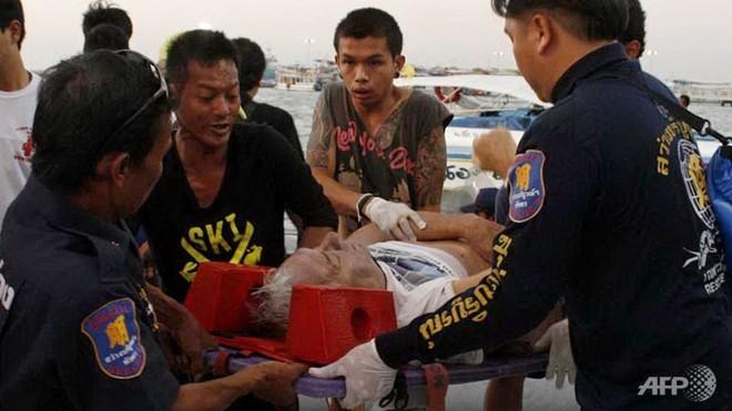 Chìm phà ngoài khơi Pattaya, 7 du khách tử nạn ảnh 1