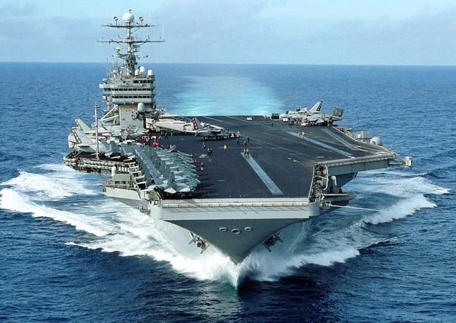 Mỹ điều tàu sân bay USS George Washington tới giúp Philippines ảnh 1