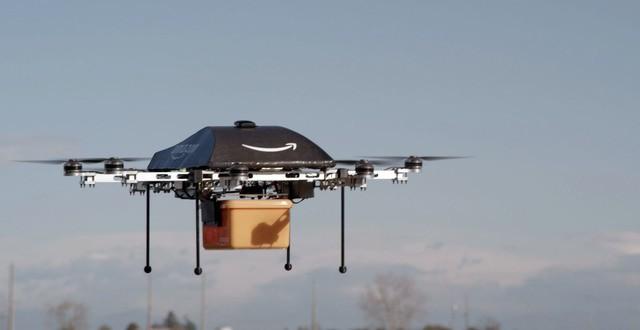 Amazon thử nghiệm giao hàng bằng máy bay không người lái ảnh 1