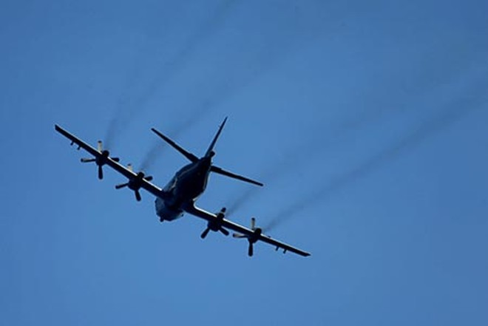 Đài Loan lần đầu sử dụng máy bay săn ngầm tối tân của Mỹ trong tập trận ảnh 1