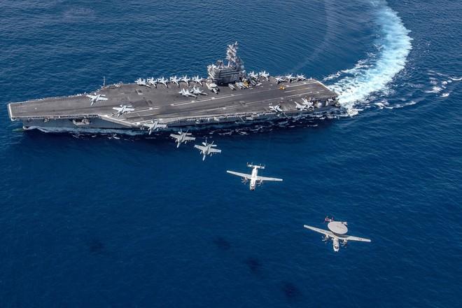 Nhóm tác chiến tàu sân bay Mỹ tập trận ở Biển Đông ảnh 1