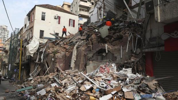 Phát hiện dấu hiệu sự sống một tháng sau vụ nổ kinh hoàng ở Beirut, Lebanon ảnh 1