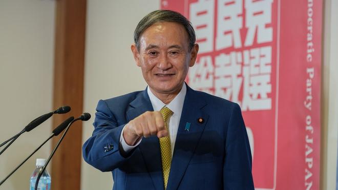 Ông Suga trở thành tân Thủ tướng Nhật Bản ảnh 1