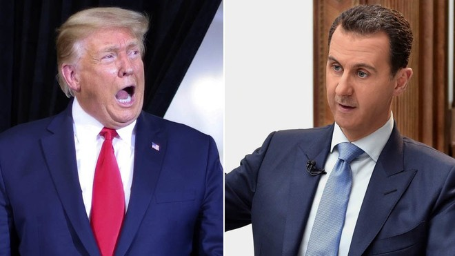 Ông Trump thừa nhận từng muốn hạ sát Tổng thống Syria Bashar Assad ảnh 1