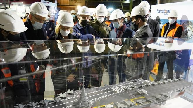 Pháp đóng tàu sân bay hạt nhân mới, thay thế soái hạm Charles de Gaulle ảnh 1