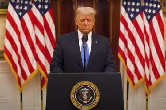 [Tin nhanh sáng 20-1-2021] Ông Trump gửi lời tạm biệt trong ngày cuối cùng nhiệm kỳ ảnh 3