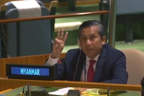 Đại sứ Myanmar tại Liên hợp quốc nghẹn ngào phản đối cuộc đảo chính ảnh 1