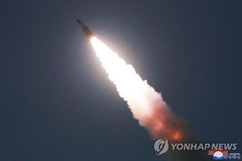 Triều Tiên bị nghi phóng tên lửa đạn đạo ảnh 1
