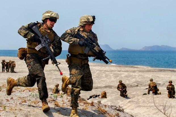 Quân đội Mỹ - Philippines bắt đầu tập trận chung ảnh 1
