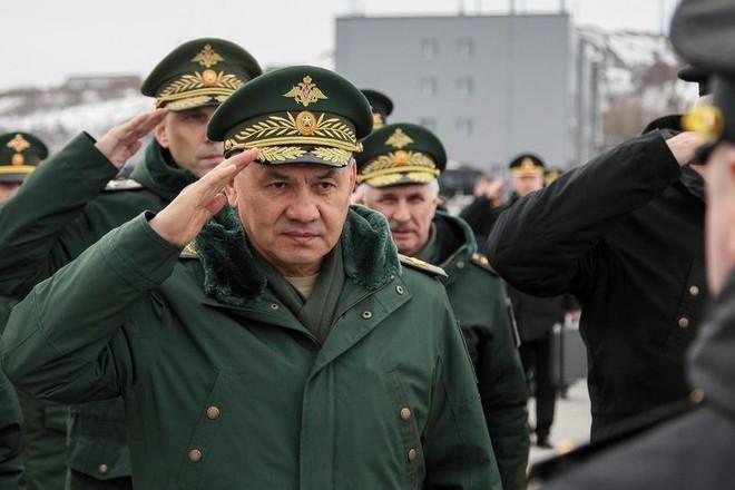 """Bộ trưởng Quốc phòng Shoigu: Quân đội Nga đã """"sẵn sàng bảo vệ đất nước"""" ảnh 1"""
