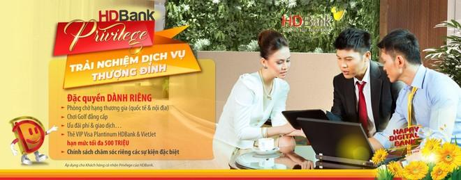 HDBank ra chương trình toàn diện chăm sóc khách hàng VIP ảnh 2