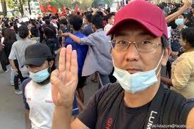 Nhà báo Nhật Bản bị bắt giữ ở Myanmar ảnh 1