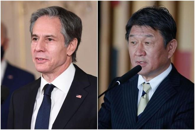 Ngoại trưởng Mỹ - Nhật Bản thảo luận về Trung Quốc, Triều Tiên ảnh 1