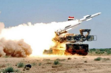 Phòng không Syria khai hỏa bắn hạ tên lửa Israel ảnh 1