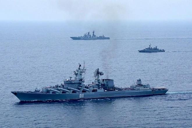 Hạm đội Thái Bình Dương Nga tập trận quy mô lớn ảnh 1