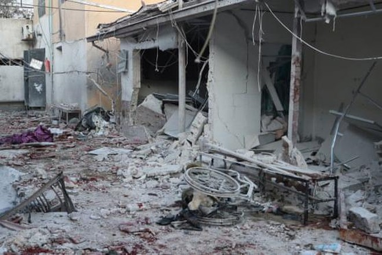 Syria: Bệnh viện bị pháo kích, ít nhất 18 người chết ảnh 1