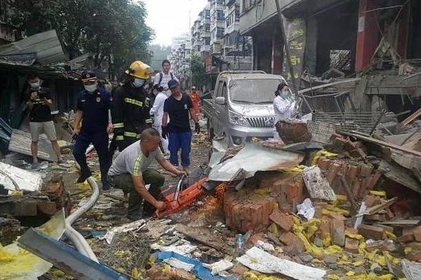 Nổ khí gas tại Trung Quốc, 11 người chết ảnh 1