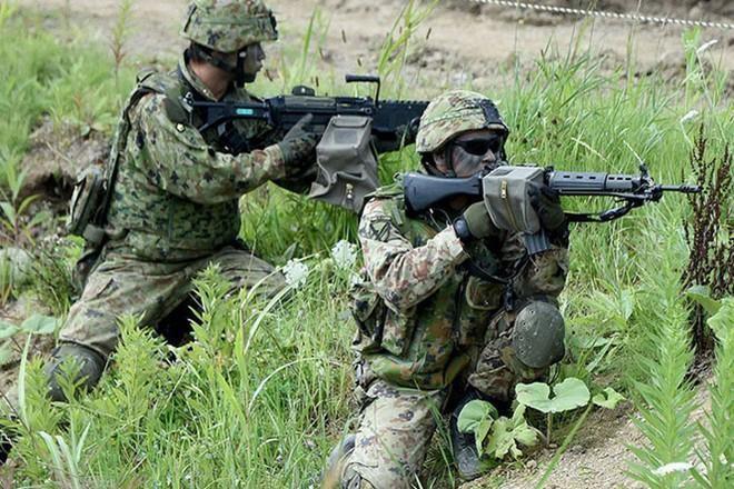 Nhật Bản - Mỹ tập trận quân sự quy mô lớn ảnh 1