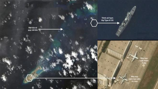 Việt Nam phản đối việc máy bay và tàu trinh sát Trung Quốc xuất hiện ở Đá Chữ Thập ảnh 1