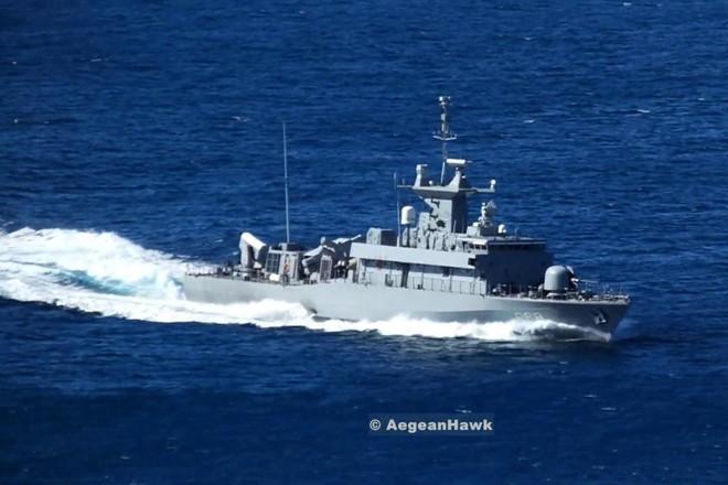 Hải quân Nga giám sát tàu tên lửa Hy Lạp ở Biển Đen ảnh 1
