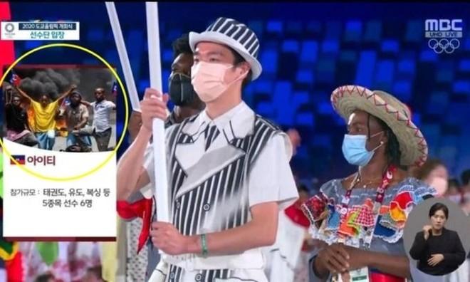 Đài truyền hình Hàn Quốc dùng hình ảnh phản cảm mô tả các nước ảnh 1