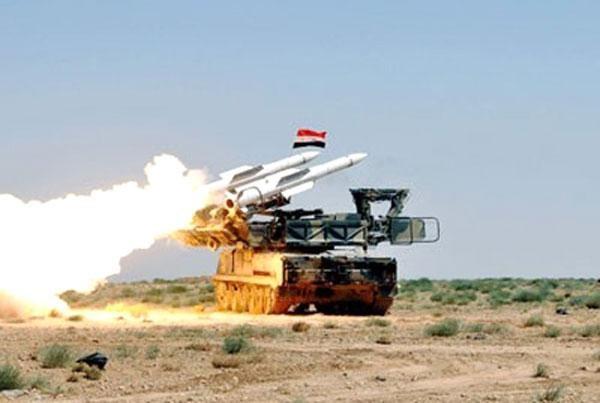 Phòng không Syria liên tiếp bắn hạ tên lửa Israel ảnh 1