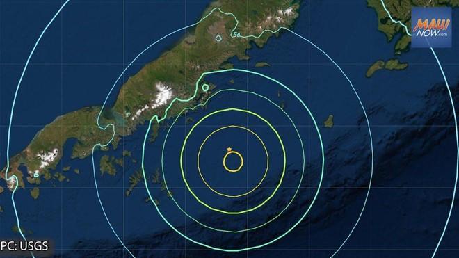 Động đất 8,2 độ richter, Mỹ cảnh báo sóng thần ảnh 1