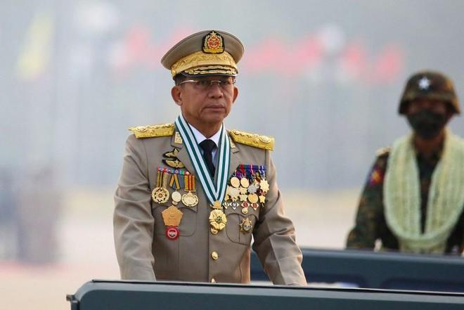 Thống tướng Min Aung Hlaing làm Thủ tướng lâm thời Myanmar ảnh 1