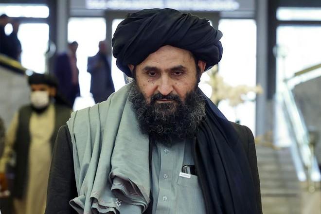 Nhân vật quyền lực bậc nhất Taliban đến Kabul đàm phán lập chính phủ mới ảnh 1