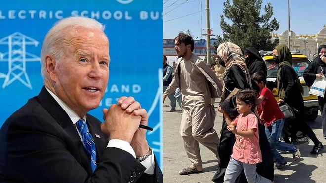 Tổng thống Joe Biden họp đội ngũ an ninh quốc gia thảo luận về Afghanistan ảnh 1