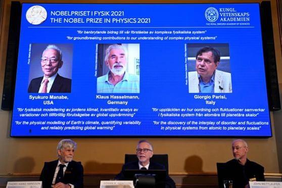 Công bố chủ nhân của giải thưởng Nobel Vật lý năm 2021 ảnh 1