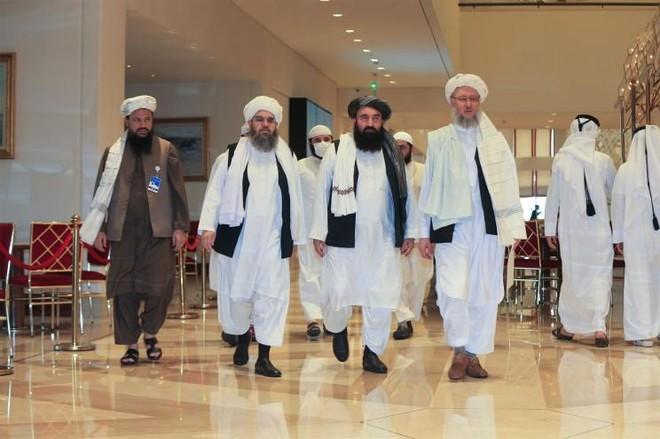 Mỹ, Taliban nói gì sau cuộc hội đàm trực tiếp đầu tiên tại Doha? ảnh 1