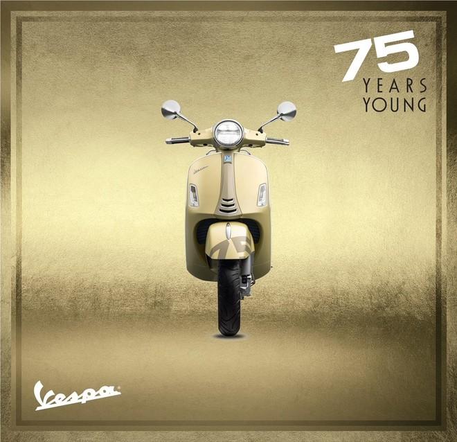 Piagio Việt Nam ra mắt phiên bản đặc biệt kỷ niệm sinh nhật Vespa 75 năm tuổi trẻ ảnh 1