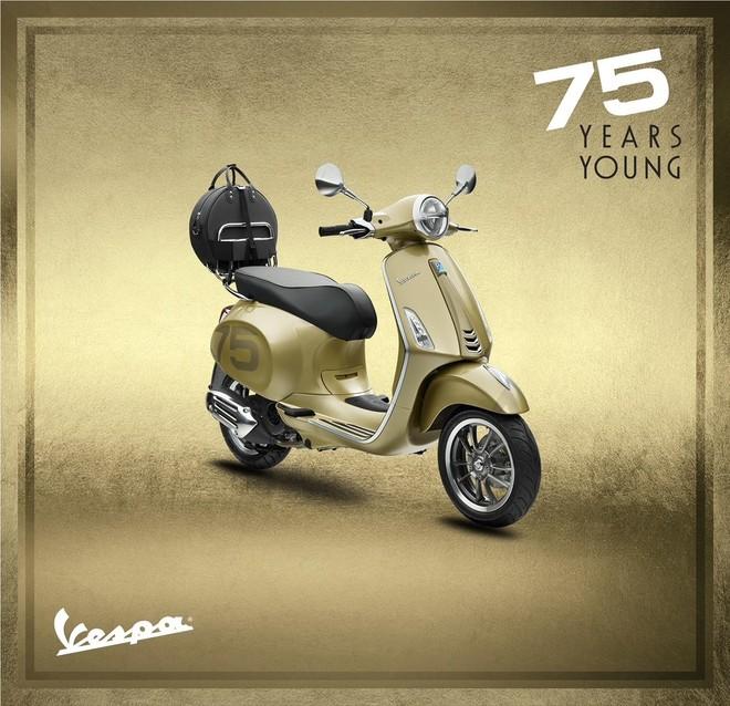 Piagio Việt Nam ra mắt phiên bản đặc biệt kỷ niệm sinh nhật Vespa 75 năm tuổi trẻ ảnh 2