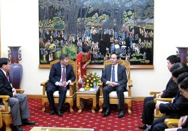 Thắt chặt hơn nữa tình hữu nghị hợp tác Việt Nam - Mông Cổ ảnh 1