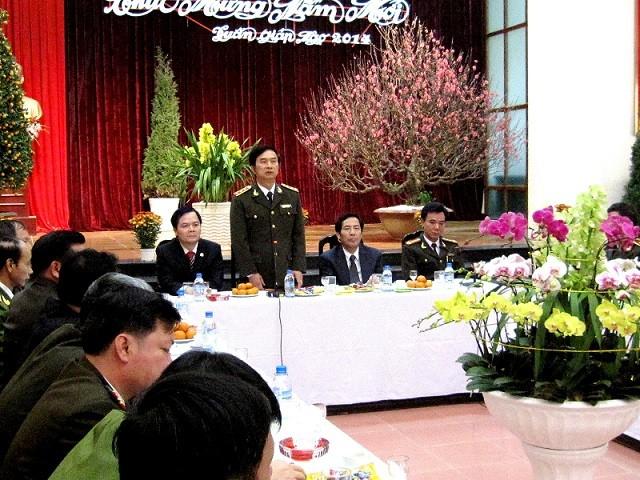 Thứ trưởng Thường trực Đặng Văn Hiếu thăm, chúc Tết CAQ Tây Hồ ảnh 1