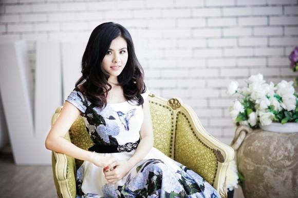 """Nữ diễn viên """"Scandal"""" Vân Trang khoe ảnh đài các ảnh 8"""
