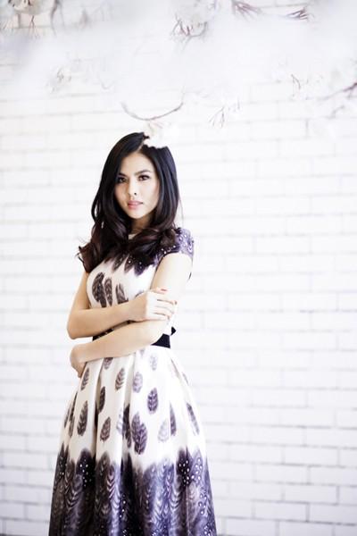"""Nữ diễn viên """"Scandal"""" Vân Trang khoe ảnh đài các ảnh 4"""