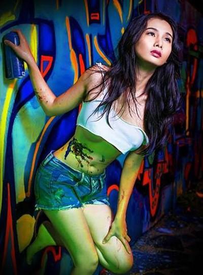 Người mẫu Xuân Thuỳ tuyệt đẹp trong một bộ ảnh ấn tượng ảnh 5