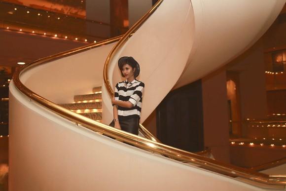 """Trang """"lạ"""" xuất hiện cá tính ở Singapore Fashion Week ảnh 13"""