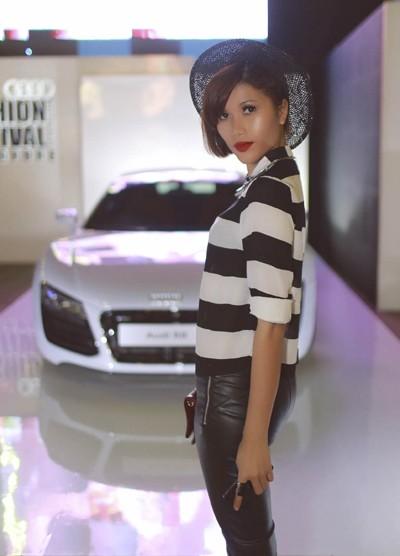 """Trang """"lạ"""" xuất hiện cá tính ở Singapore Fashion Week ảnh 4"""